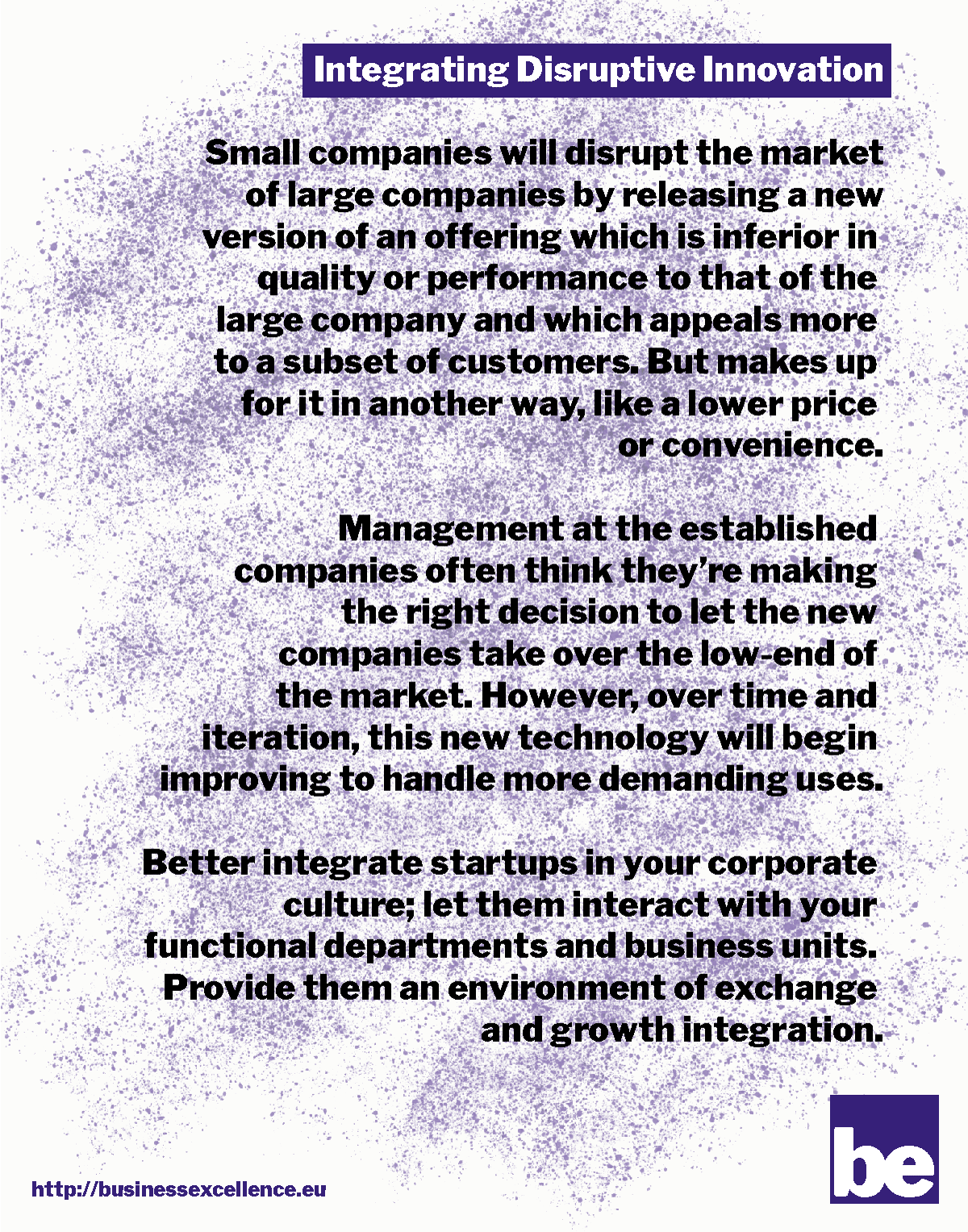 Read more about the article Integrating Disruptive Innovation