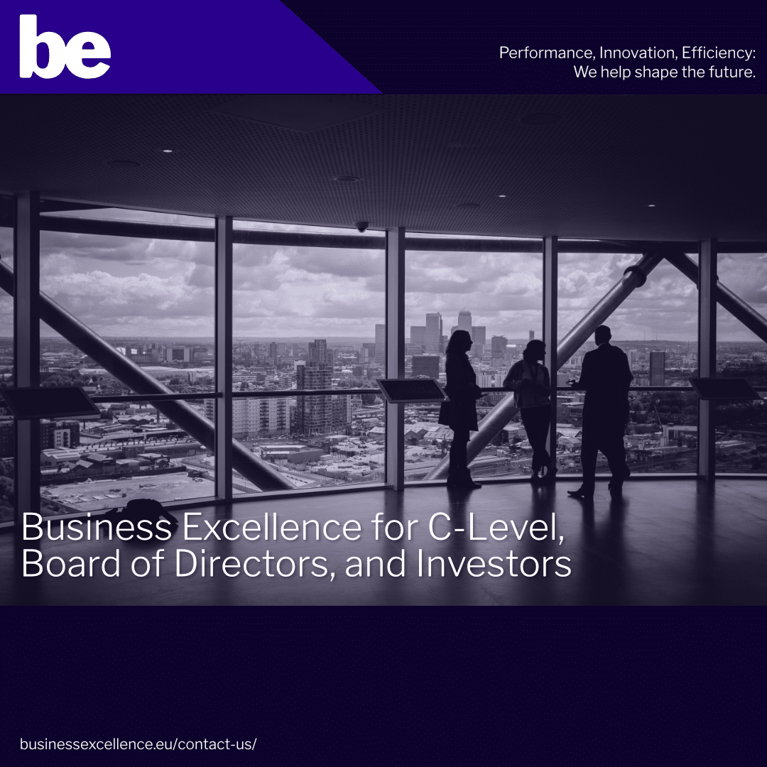 Read more about the article Business Excellence for C-Level, Board of Directors, and Investors