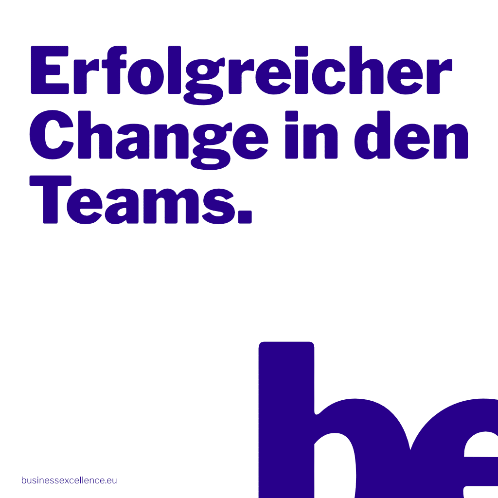 Read more about the article Erfolgreicher Change in den Teams.